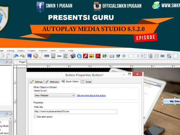 Presentasi Guru AutoPlay Media Studio 8.5.2.0