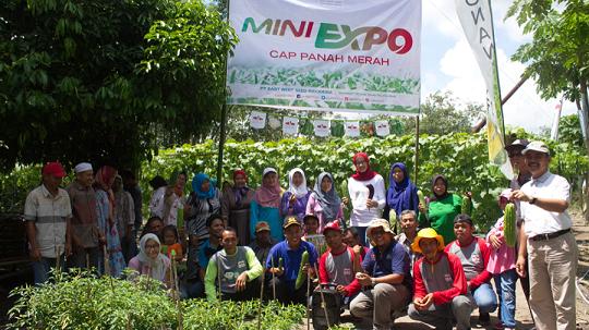 Liputan Expo Pertanian Oleh Siswa SMKN 1 Pugaan Jurusan Multimedia