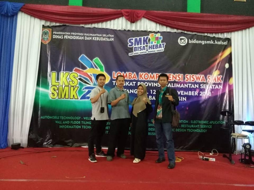 Lomba Kompetensi Siswa SMKN 1 Pugaan Tingkat Provinsi Kalimantan Selatan Tahun 2018