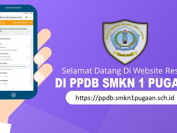 Pengumuman PPDB SMKN 1 Pugaan Tahun Pelajaran 2021/2022